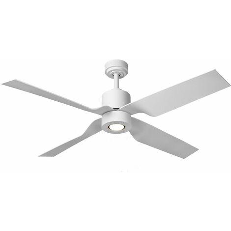 Fantasia Elite Tau 52inch. Ceiling Fan with Light - Matt White - 115762