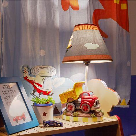 Fantasy Fields Childrens Transportation LED Bedside Night Light Lamp TD-0035AT