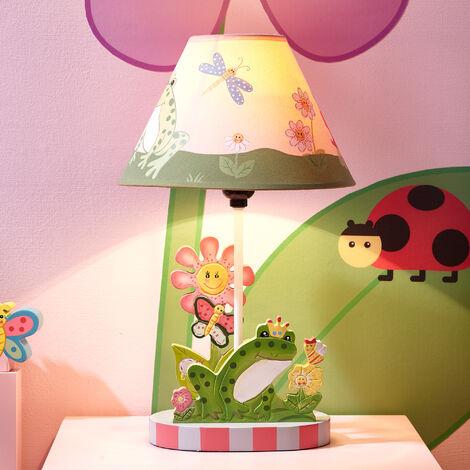 Fantasy Fields Girls Magic Garden Kids Bedside Night Light Table Lamp W-7488AT