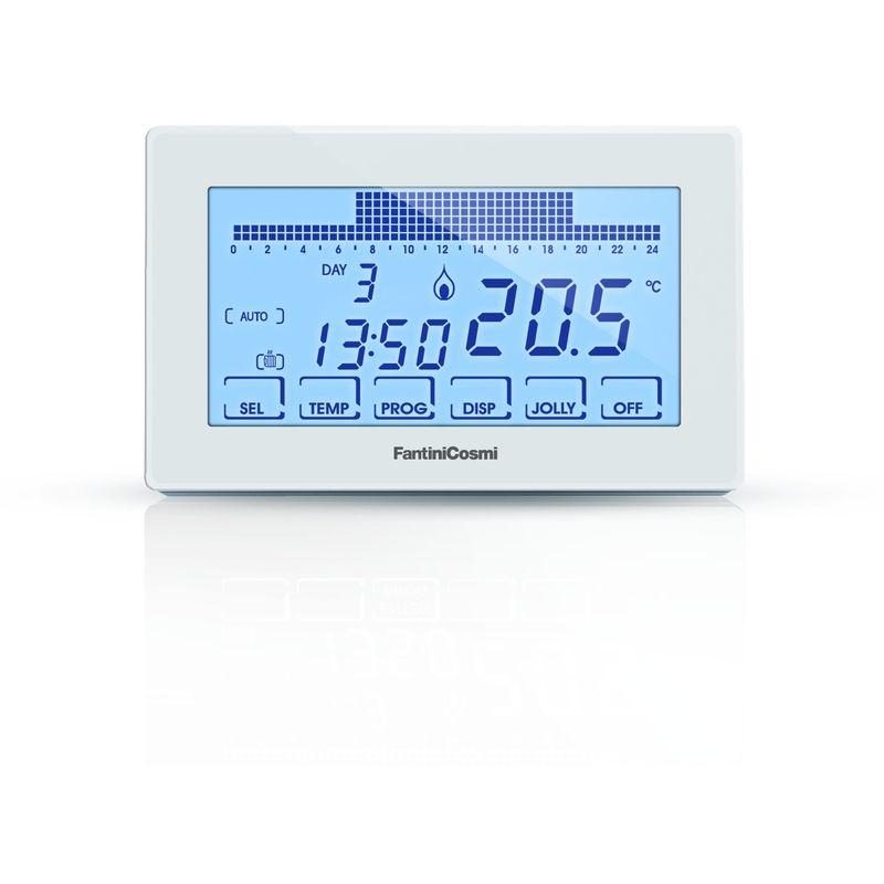 fantini cosmi ch180 cronotermostato touchscreen