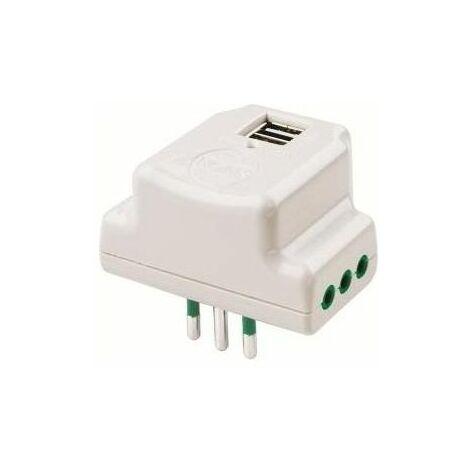 Adattatore triplo FANTON 16A+Schuko sistema verticale elettrodomestici
