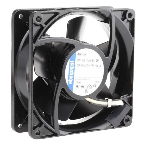 Fantronic A12B23HTBI00 - Ventilateur axial 160 m³/h - IP20 230VAC 47dBA