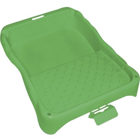 Farbwanne Kunststoff 21x22cm grün Nölle