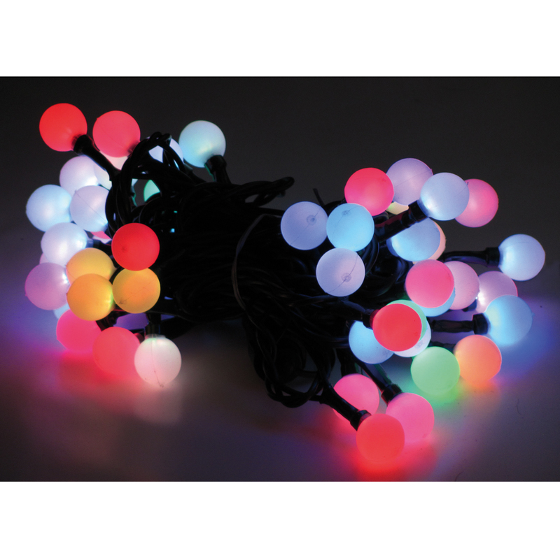 LED Lichterkette Leuchtkette mit Farbwechsel Kaltweiss und Warmweiss 4 Programme