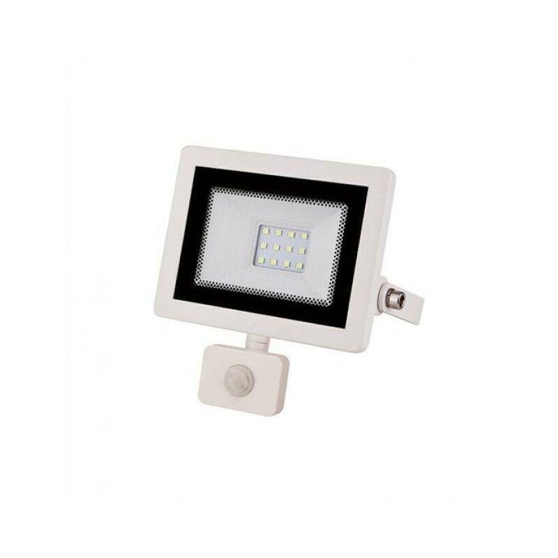 Faretto A Led 10W Ultrasottile Con Sensori Di Movimento Interni Ed Esterni 4200K - VIVALAMP