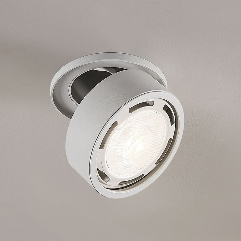 Faretto LED Dafina GU10 dimmerabile, bianco - LAMPENWELT