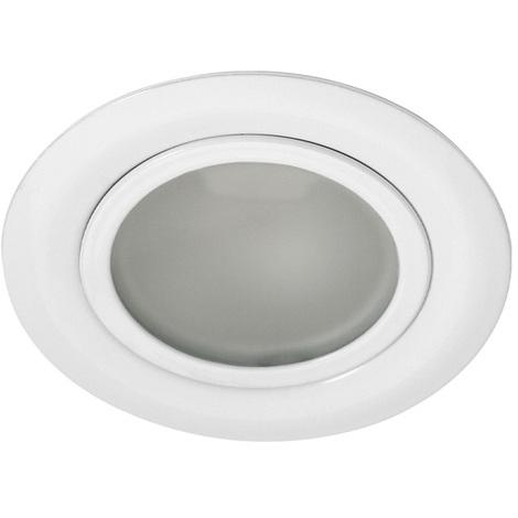 Faretti Alogeni Da Incasso.Faretto Alogeno Da Incasso Per Mobili Bianco G4 Gavi Ct2116bb