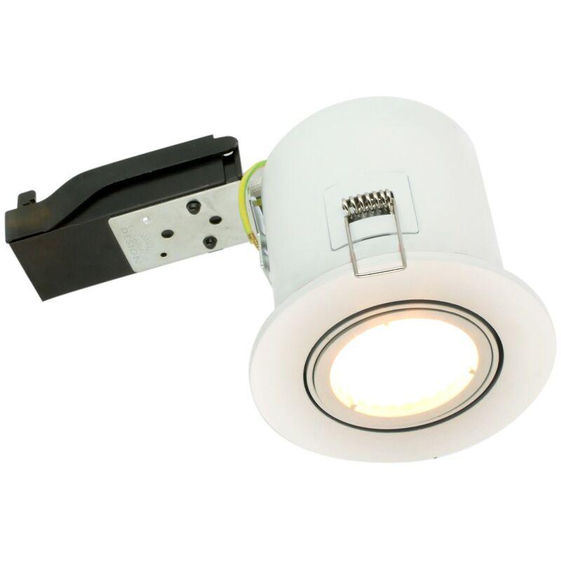 Eclairage Design - Faretto BBC RT2012 orientabile bianco Con faretto LED GU10 5W