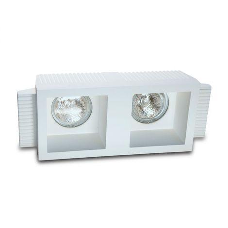 Faretto incasso gesso 9010 belfiore neo luce 0023 led lampada soffitto ottica fissa cartongesso muratura gu10