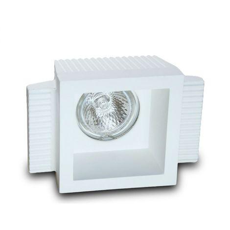 Faretto incasso gesso neo luce 9010 belfiore bf-0035 led lampada soffitto ottica fissa cartongesso muratura gu10