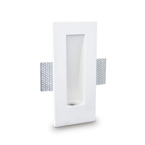 Faretto incasso gesso neo luce 9010 belfiore bf-0040 led lampada soffitto parete segnapasso cartongesso gu10
