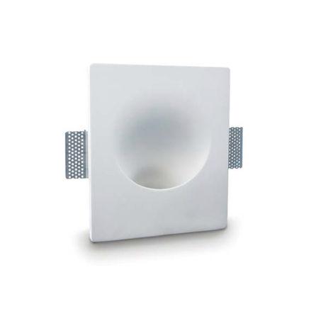 Faretto incasso gesso neo luce 9010 belfiore bf-0049 led lampada parete soffitto cartongesso muro interno gu10