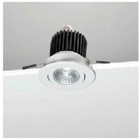 Faretto A Incasso Led.Faretto Incasso Led Orientabile 11 5w Luce Naturale E50 4k