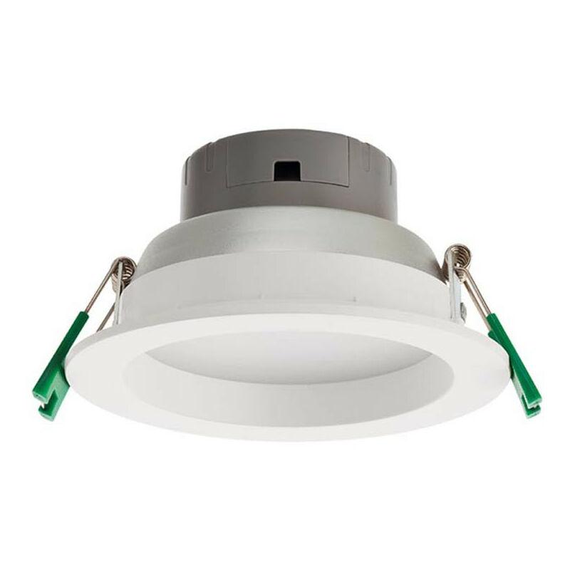 Faretto incasso LED Redo 12W 4000K 90° IP44 forma tonda EV02NW