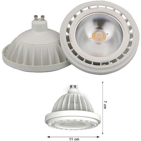 Lampada Led Gu10 20w.Faretto Lampada A Led Cob Gu10 20w Ar111 1800lumen Luce