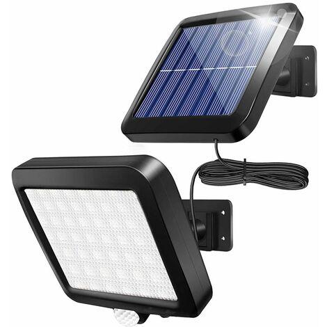"""main image of """"Faretto lampada solare led da esterno 30w luce fredda sensore di movimento"""""""