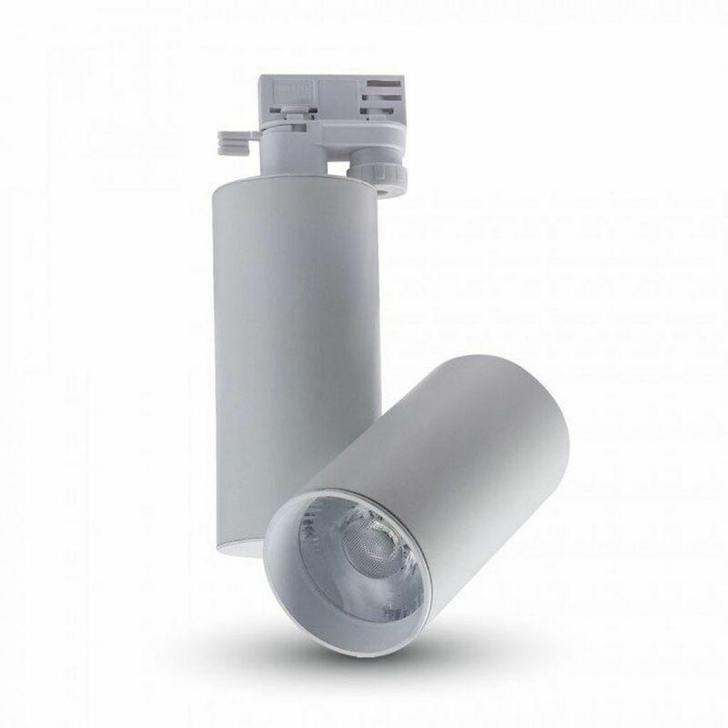Faretto LED da Binario 30W Colore Bianco 6400K CRI>95 - V-tac