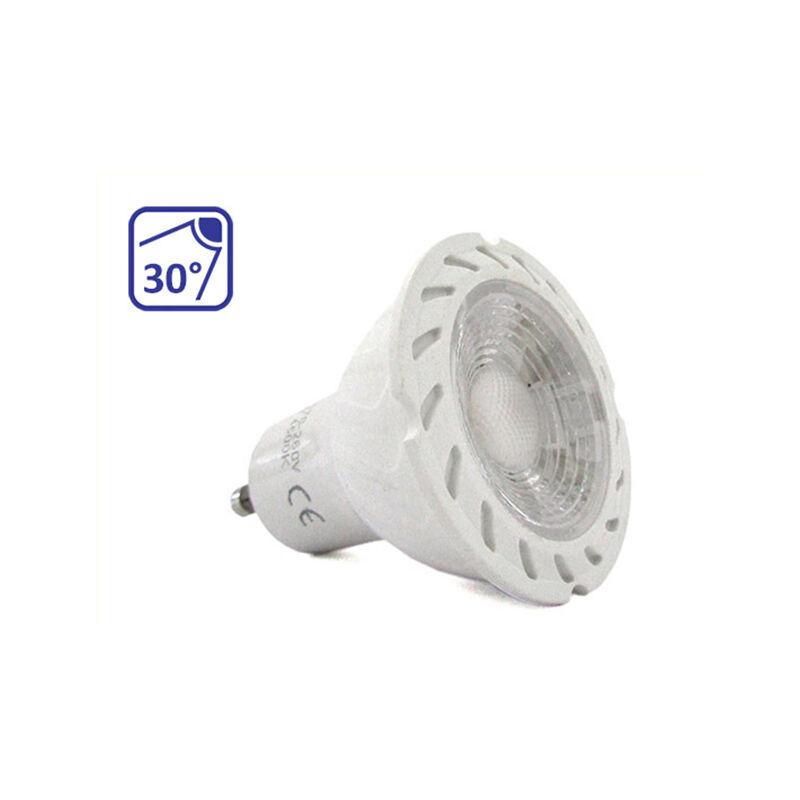 LEDLUX GU1029C Lampada Led GU10 COB 8W 38 Gradi 220V Bianco Caldo 3000K Fascio Luce Stretto Dimensione Compatta SKU-1693