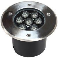Faretto LED Segnapasso Segnapassi Calpestabile Esterno IP68 7W Luce Calda Fredda