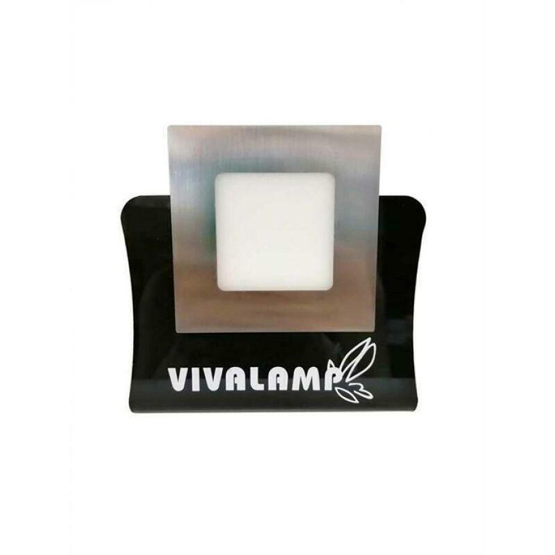 Vivalamp - FARETTO LED ULTRASLIM 18W COLOR ACCIAIO FARETTO A LED DA INCASSO CON DRIVER KIT 2 PEZZI