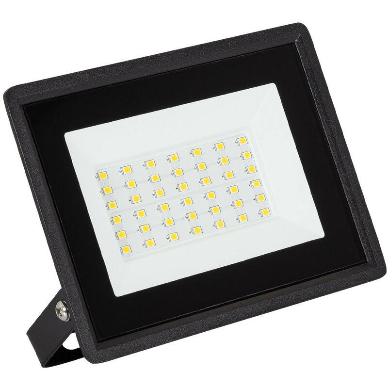 Faretto Proiettore LED Solid 30W Bianco Caldo 3000K