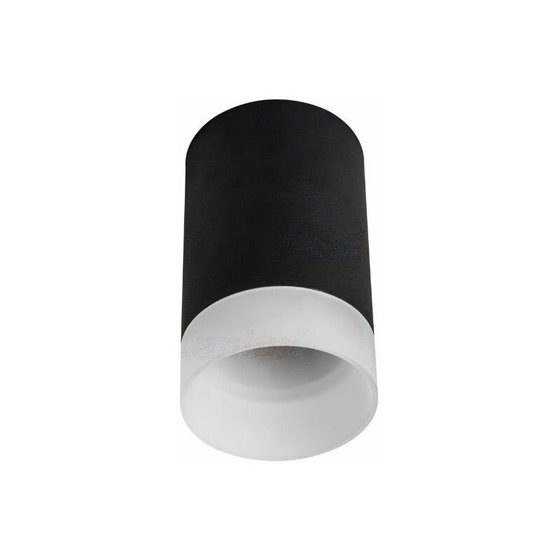 faretto soffitto lunati decorativo 1 luce 220-240 volt CE GU10 IP20 fisso interno nero kan 29041