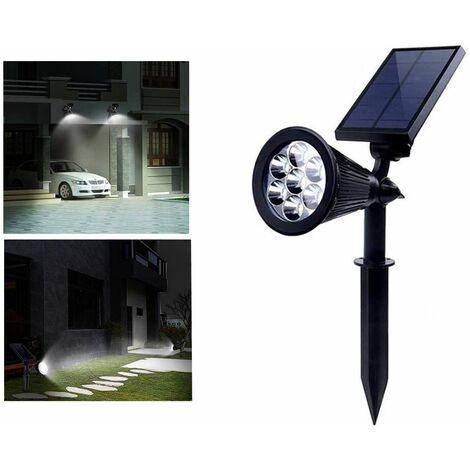 """main image of """"Faretto solare da giardino con picchetto 7w luce fredda lampada led TE-B0273"""""""
