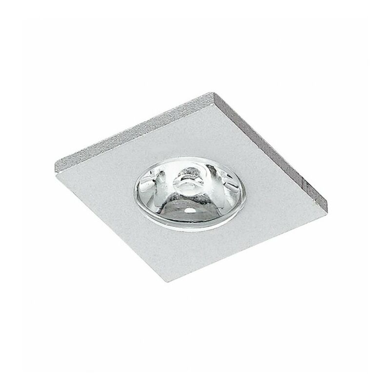 Shop-day - Faretto a incasso moderno a led di forma quadrata 1 watt 4000 kelvin