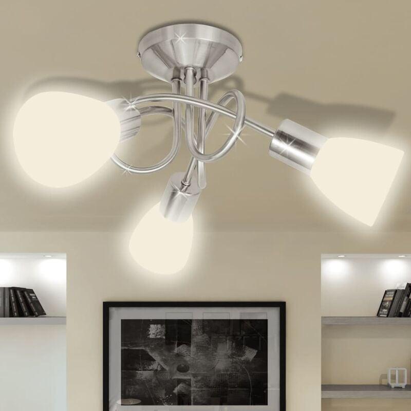 Image of Farlough 3-Light 46cm Ceiling Spotlight by White - Ivy Bronx