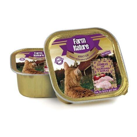 Farm Nature Conejo con Manzana y Moras 100 g (Gatos)