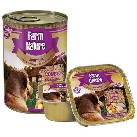 Farm Nature Conejo con Patatas, Manzana y Tomillo (Perros) 150 Gr