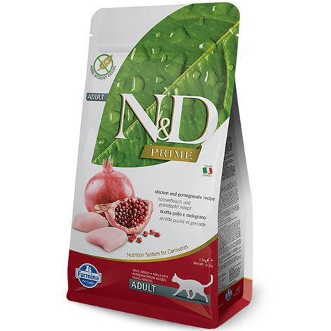 Farmina N&D Grain Free Adult Chicken and pomegranate for cats Farmina N&D