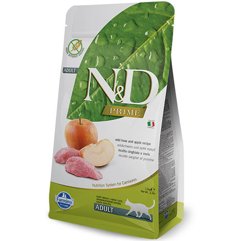 Farmina N&D Grain Free Adult Wild Boar and Apple for Cats Farmina N&D