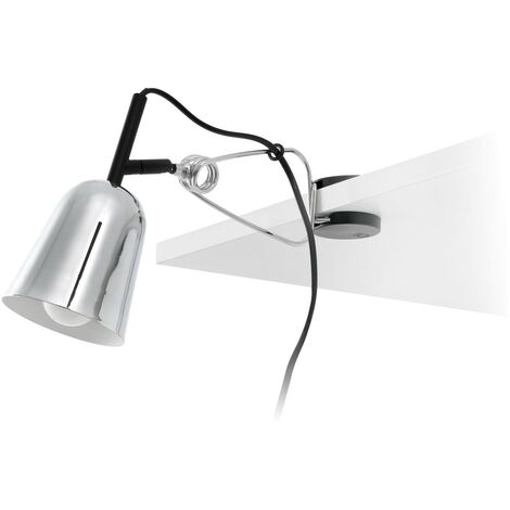 Faro 51136 - STUDIO Lampe avec pince grise et blanche