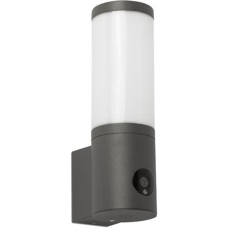 FARO 75701 | Aplique ORWELL cámara dimable gris oscuro 12W 3000-6000