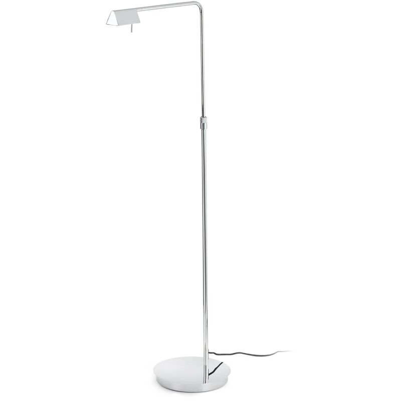 Image of Faro Academy - LED Dimmable Floor Lamp Chrome