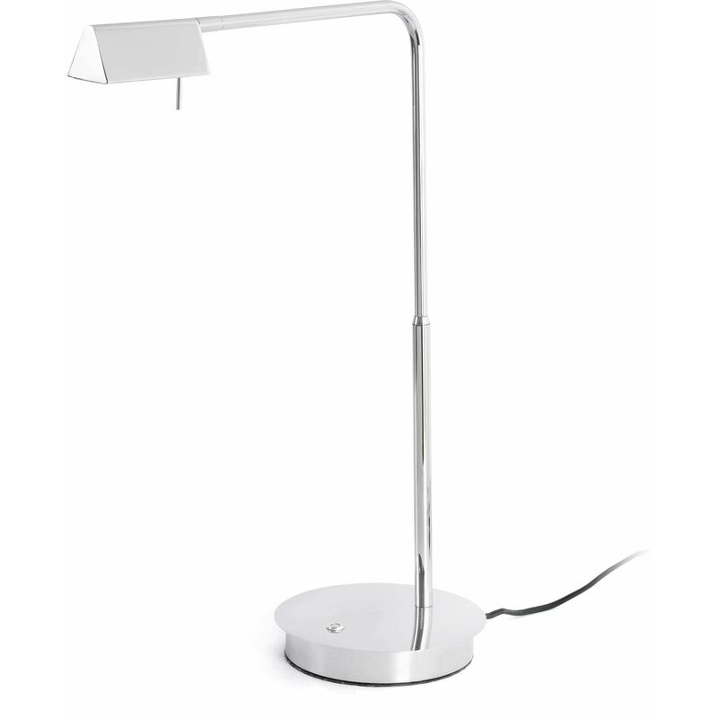 Image of Academy chrome table lamp