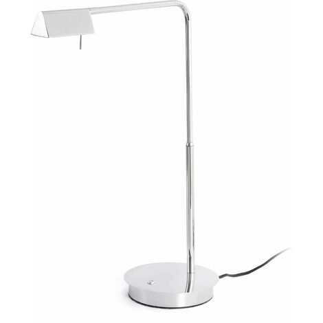 Faro Academy - LED Dimmable Table Lamp Chrome