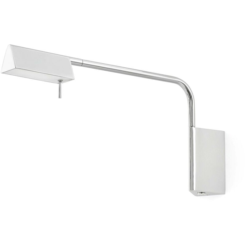 Image of Faro Academy - LED Indoor Wall Lamp Chrome