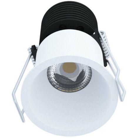 Faro ad Incasso Novalux kone LED 7W 3000K fascio 36° Bianco 103603.01