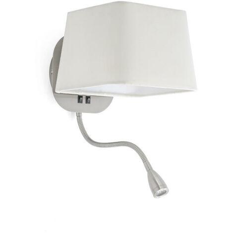 FARO - APPLIQUE SWEET BLANC 1L AVEC LED - DESIGN