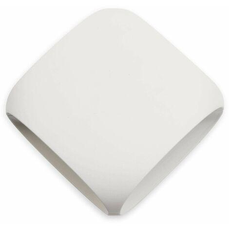 Faro Bu-Oh - LED Outdoor Wall Light White, Dark Grey IP65