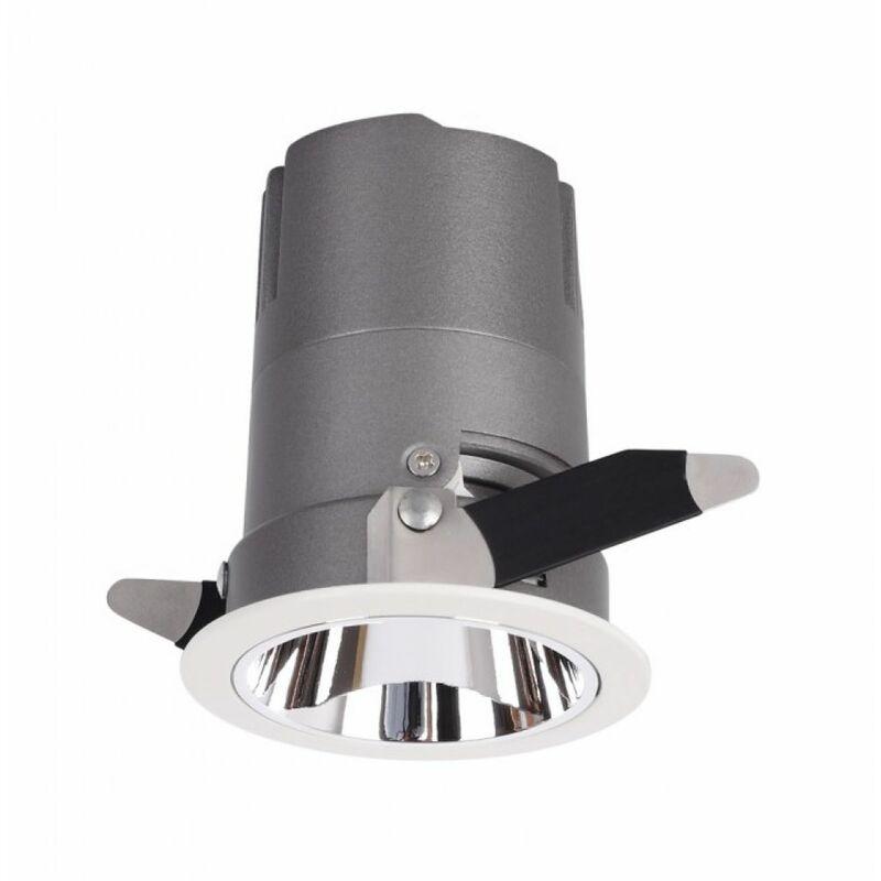 Faro da Incasso LED V-TAC COB per Hotel 15W Orientabile di 27° 3000K CRI>95