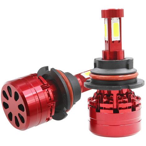 Faro del coche LED Kit 9004/9007 6000K Foglight bulbo blanco de la linterna, 6000K