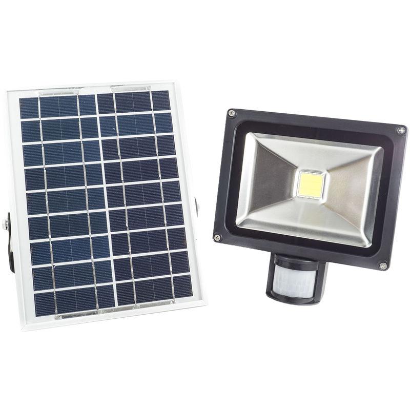 Faro faretto 50w watt led cob sensore movimento pannello for Faro arredamenti
