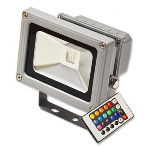 FARO FARETTO RGB PROIETTORE A LED MULTICOLORE 10W 20W 30W 50W IP66 ESTERNO