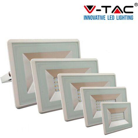FARO FARETTO VTAC LED V-TAC SMD 20W 30W 50W 100W SLIM DA ESTERNO ULTRA SOTTILE