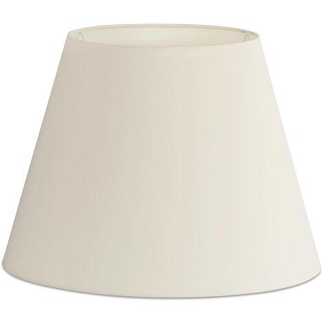 Faro - Floor Lamp White Tapered Shade