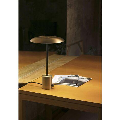 Faro Hoshi - LED Table Lamp Black, Gold