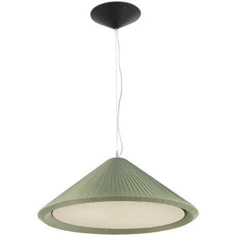 Faro Hue-In - 3 Light Small Dome Ceiling Pendant Burgundy, E27
